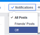 how to clear all notifications on facebook