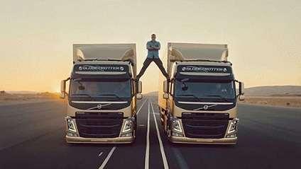 Volvo commercial starring Jean-Claude Van Damme